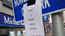 """""""Az iszlámnak igaza van a nőkkel kapcsolatban"""": egy zseniális troll plakátjai a liberális Massachusetts-ben"""