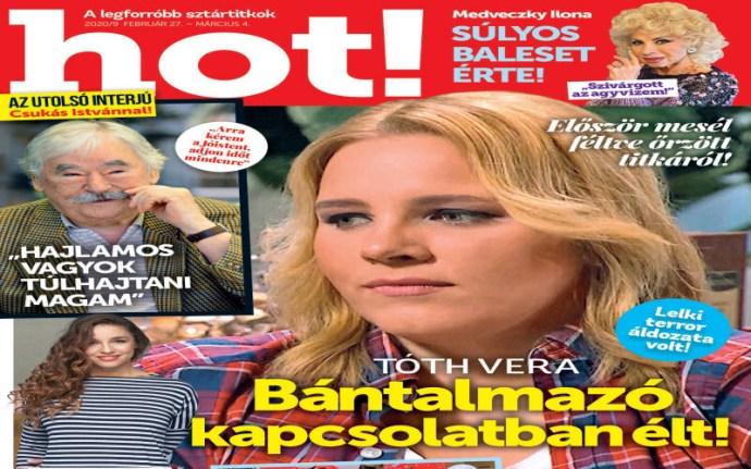 Az antifeminista Tóth Vera is hirtelen rádöbbent, hogy ő egy bántalmazott nő