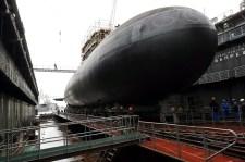 Új tengeralattjárót mutattak be az oroszok