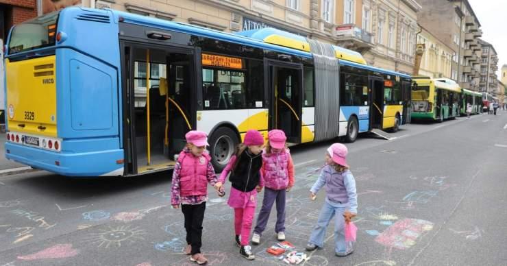 Európai Mobilitási Hét Kassán és Rozsnyón