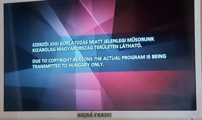 Ismét beigazolódott, hogy hazudott az MTVA: Erdélyben nem nézhetik a magyar-szlovák meccset