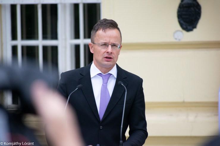 Szijjártó Péter: Magyarország nem fogadja el a globális minimumadó bevezetését