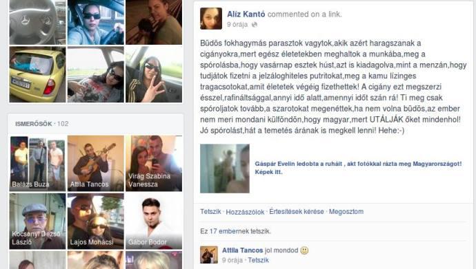 """Szegény romák nem merik azt mondani """"külföndön"""", hogy magyarok, mert a """"büdös fokhagymás parasztokat mindenhol utálják"""""""