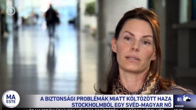"""Évek óta Magyarországon él a Svédországból """"hazamenekült"""" nő"""