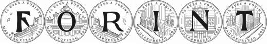 Emlékérmét bocsát ki a jegybank a forint bevezetésének 75. évfordulóján