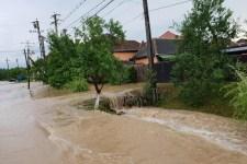 Ötven háztartást sújtott az árvíz Arad megyében
