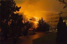 Leégett a budapesti Testnevelési Egyetem
