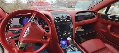 Koszovói sofőr, magyar rendszám, dán Bentley