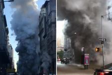 VIDEÓ: Gőzrobbanás történt New Yorkban