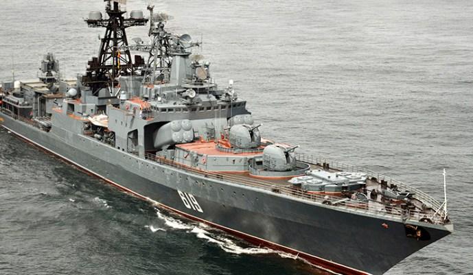Orosz hadihajó osztag elhagyta a La Manche-csatornát