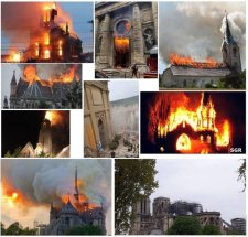 10 hónap alatt ezek a templomok gyulladtak ki Franciaországban