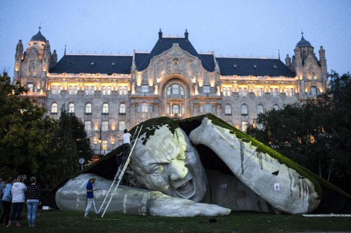 Magyar óriásszobor hódította meg a világot