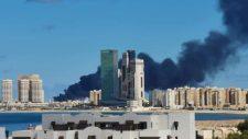 Török fegyverszállító hajót lőttek ki a líbiai katonák (képek, videó)