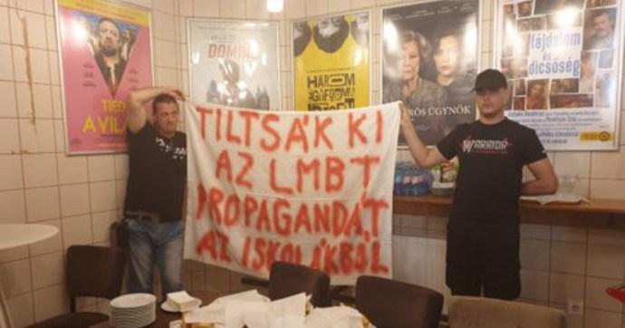 Buzipropagandát akadályoztak meg a nemzeti radikálisok