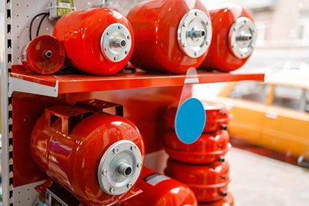 A megbízható tágulási tartály garantálja a fűtési rendszer tartósságát