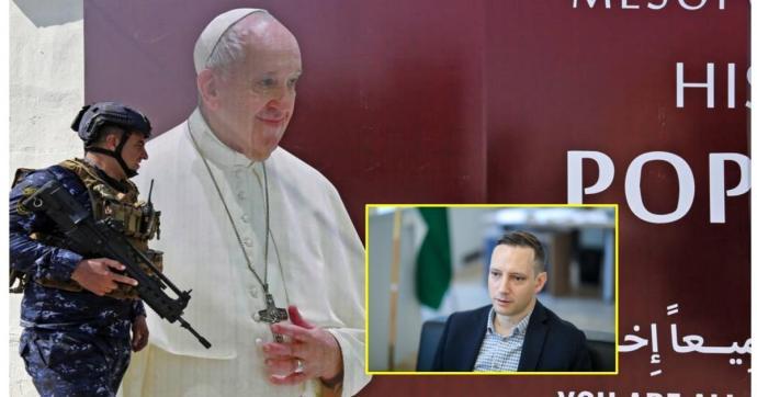 Ferenc pápával találkozott a magyar államtitkár Irakban