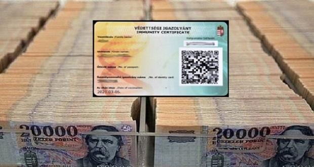 Júniusra 12 milliárd forintra rúghat a védettségi kártyák gyártási költsége