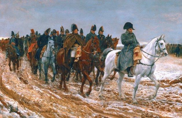 Napóleon komplexusai egymillió életbe kerültek a fagyos orosz pokolban