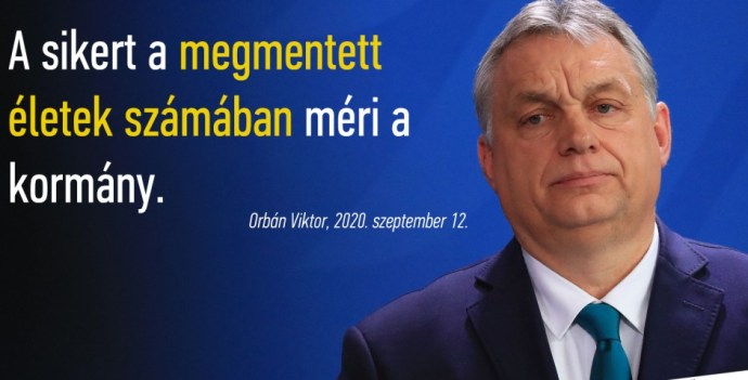 Orbán: mindenkit meg fogunk gyógyítani; Kásler: volt intenzív osztály, ahol a betegek 80%-át elvesztették