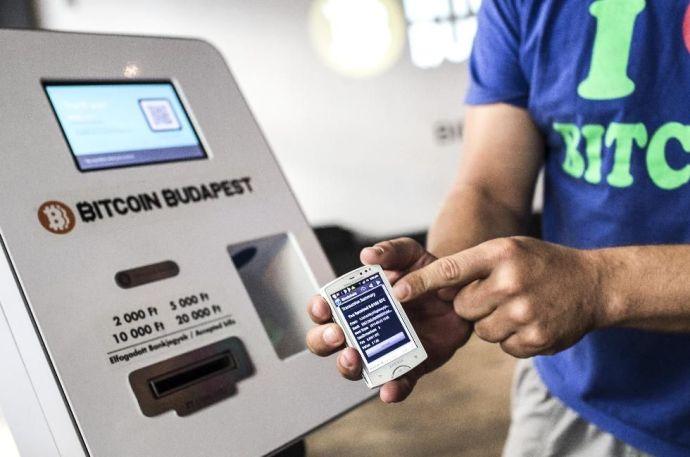 Itt az első fővárosi bitcoin-automata
