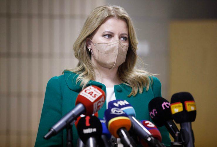 Čaputová a tervezettnél egy nappal korábban tartja meg országértékelő beszédét a parlament előtt