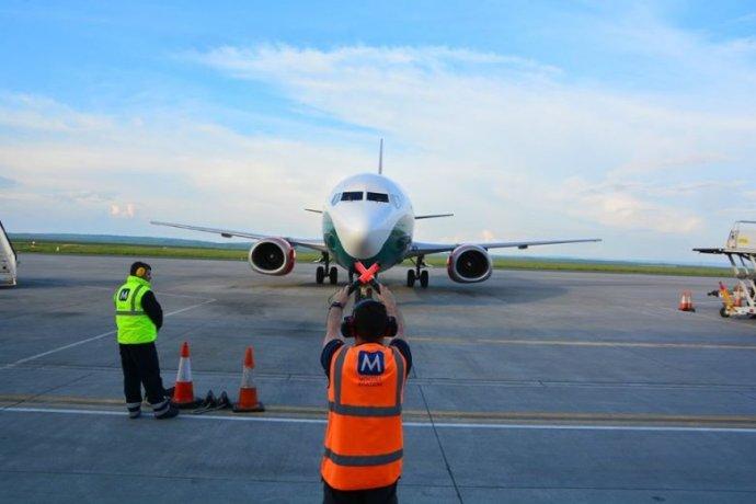 Nem engedték felszállni a vendégmunkások repülőjáratait Jászvásáron