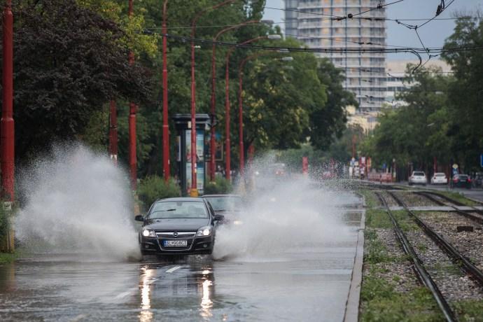Óriási vihar Pozsonyban – képekben