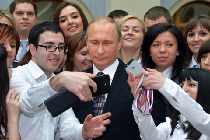 Putyin rekordot döntött, beszólt Kijevnek és Amerikának