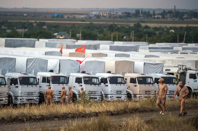 Turcsinovnak továbbra sem tetszik az orosz konvoj