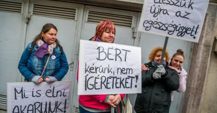 Demonstrációra készül az egészségügy, béremelést követelnek a közszférában