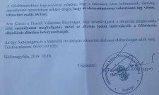 Választási csalás gyanúja Alsószentmártonban