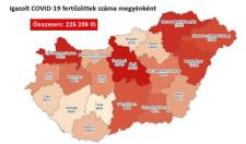 Koronavírus – Meghalt 165 beteg, 4136-tal nőtt a fertőzöttek száma