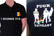 Magyargyalázó pólóval készülnek az oláhok az Európa-bajnoki selejtezőre