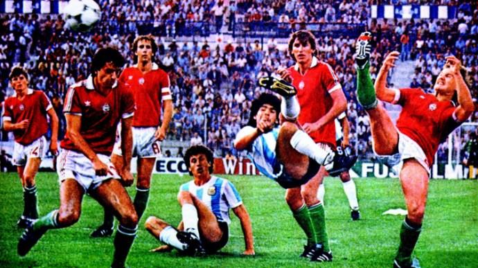 Maradona a magyarok ellen