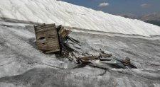 Zsákszámra kerülnek elő első világháborús relikviák egy olvadó gleccserből