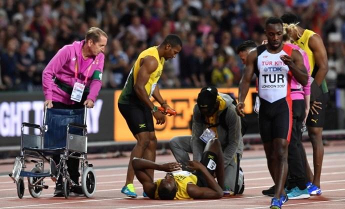 Egy legenda bukása: nézze meg Usain Bolt utolsó futását!