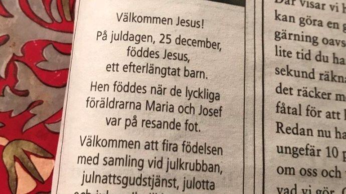 """Svédország evangélikus egyháza semleges neműt csinált Jézusból – így """"befogadóbb"""" lett a megváltó elnevezése"""