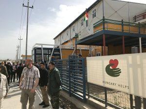 Magyarország segít: kétszáz menekült szír család térhetett vissza otthonába