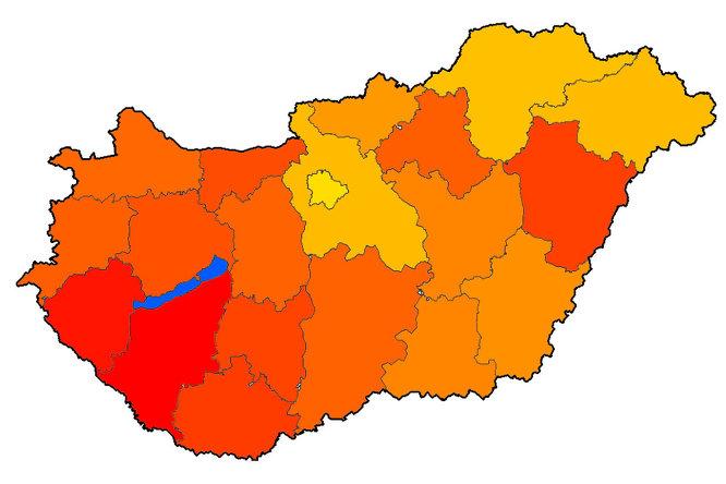Előretört a Dunántúlon a Jobbik