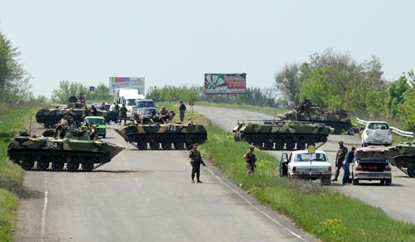Hat ukrán katona és egy népfelkelő halt meg Kramatorszk alatt