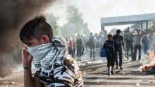 Ismét előkerült a könnygáz a horvát-szlovén határon