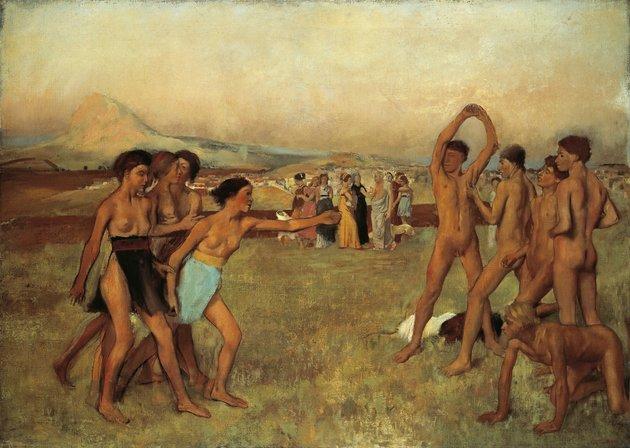 Tudta-e, hogy az ókori spártai nők meglehetősen sportos és szabad életet éltek?