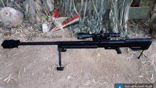 Új mesterlövész puskát állított hadrendbe a szíriai hadsereg