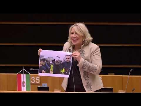 """Morvai: Sargentini asszony, nézzen körül: üres a terem, senkit nem érdekelnek a szerencsétlen próbálkozásai! – Morvai Krisztina felszólalása a brüsszeli """"Magyarország vitában"""" – videóval"""