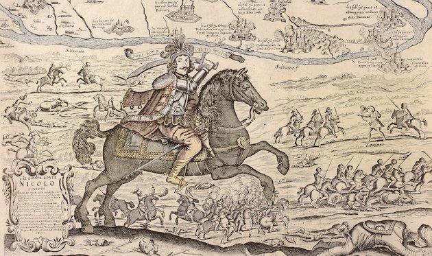 Zrínyi Miklós 1664-es téli hadjáratával megmentette hazáját, ám elveszítette várát