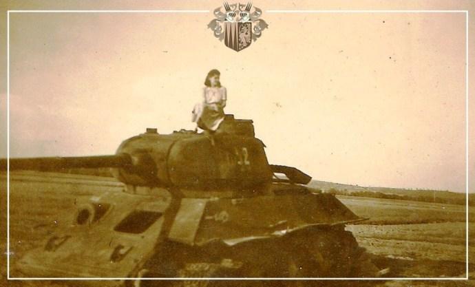 """75 évvel ezelőtt zajlottak a Garam-Ipoly menti harcok, melyek során kilőtték a """"mítikus zselízi tankot"""""""