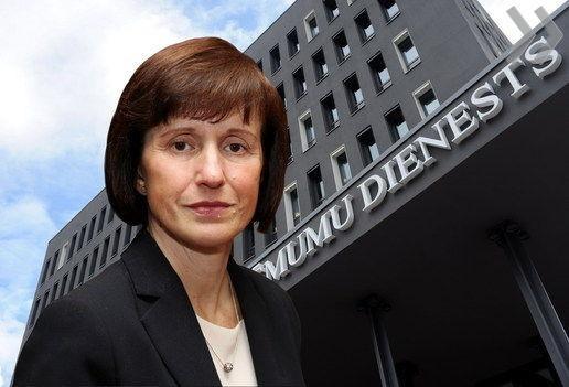 Holtan találták szobájában a lett pénzügyi hatóságok vezető asszonyát
