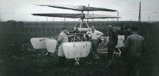 Már elkészítette az első helikoptert a briteknek Asbóth Oszkár, amikor kitört a világháború