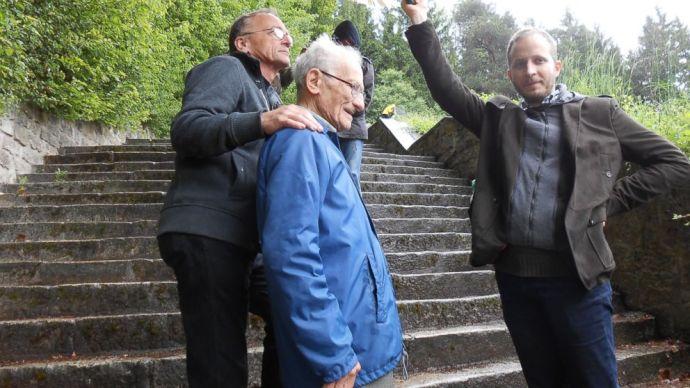 Pali bácsi beleköpött a hololevesbe: azt állítja, Mauthausenben igenis voltak gázkamrák