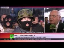 Gorbacsov az amerikai és uniós banditákról